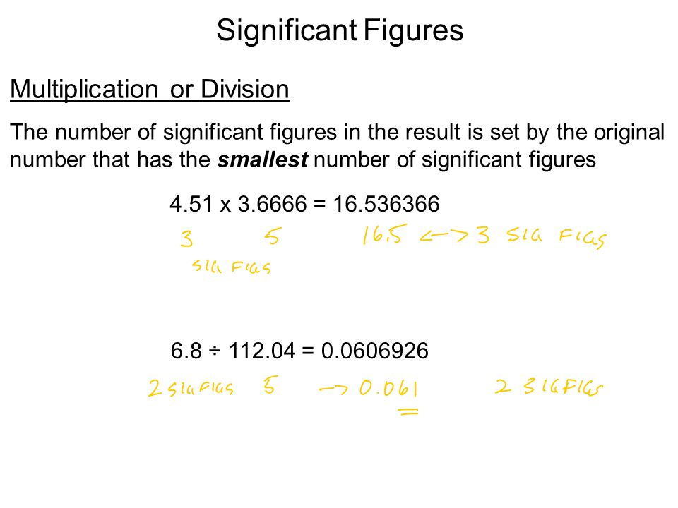 Significant Figures Addition or Subtraction The answer cannot have more digits to the right of the decimal point than any of the original numbers.
