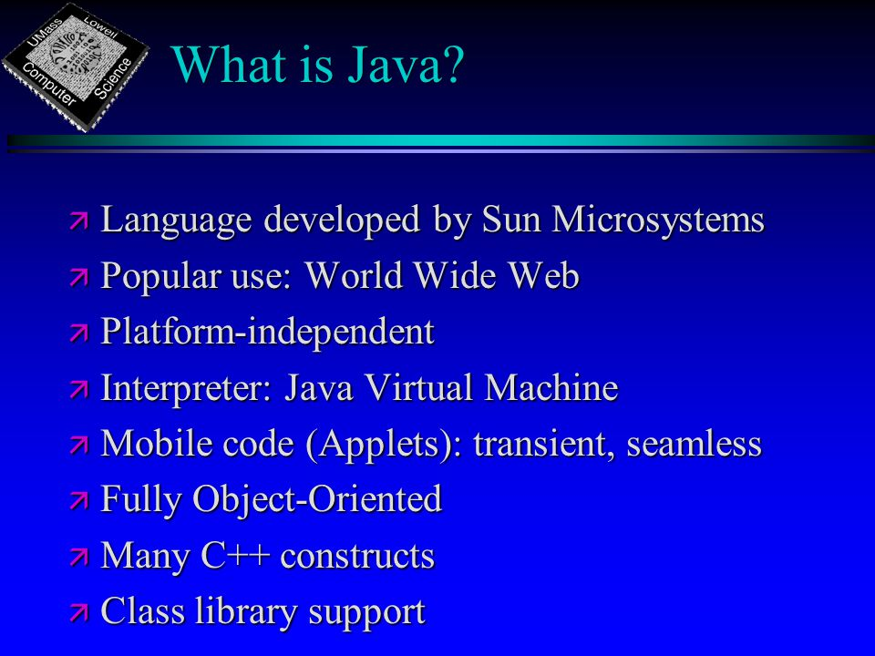 What is Java.