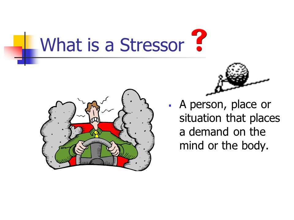 Stress Management Anticipating and Monitoring Personal Stressors
