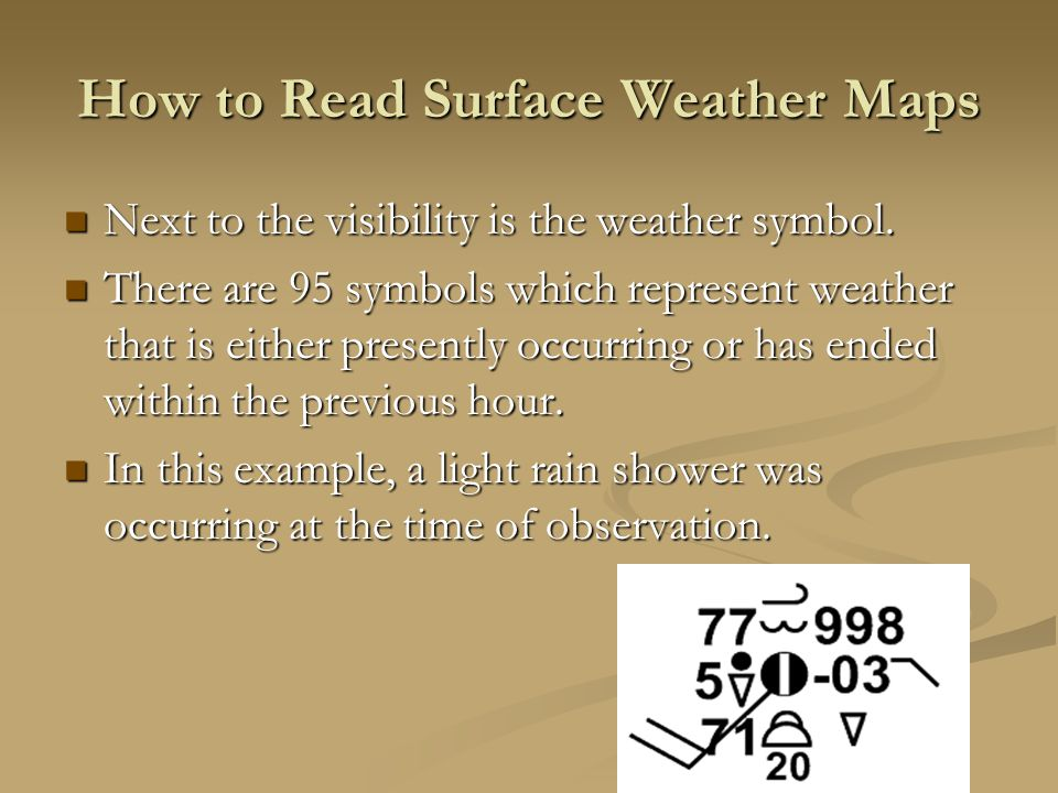 Reading Weather Maps How To Read Surface Weather Maps On Surface