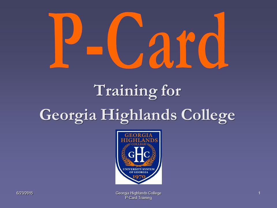 Training For Georgia Highlands College 62320151georgia Highlands