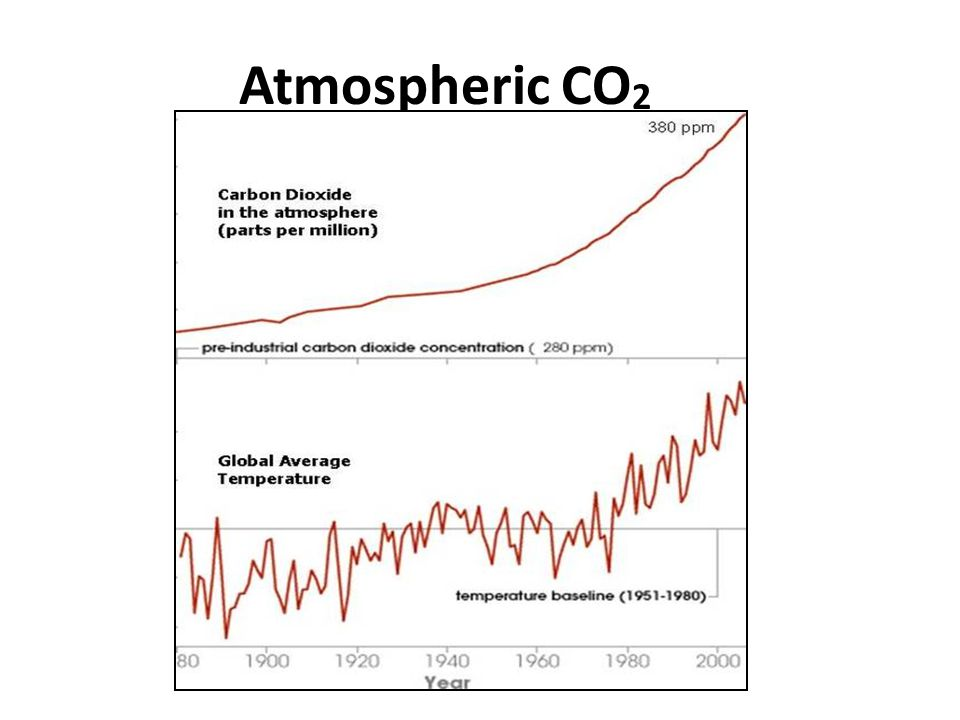 Atmospheric CO 2