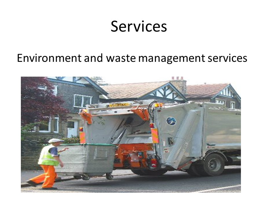 Services Environment and waste management services