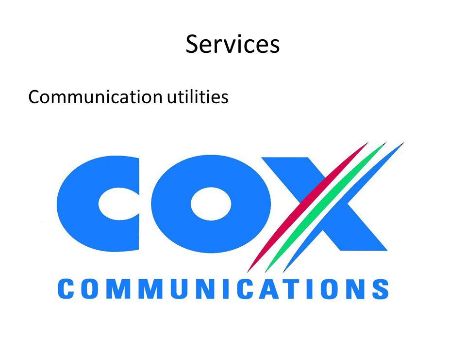 Services Communication utilities