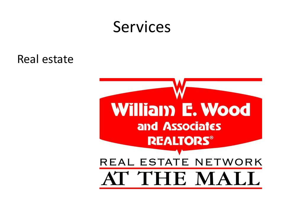 Services Real estate
