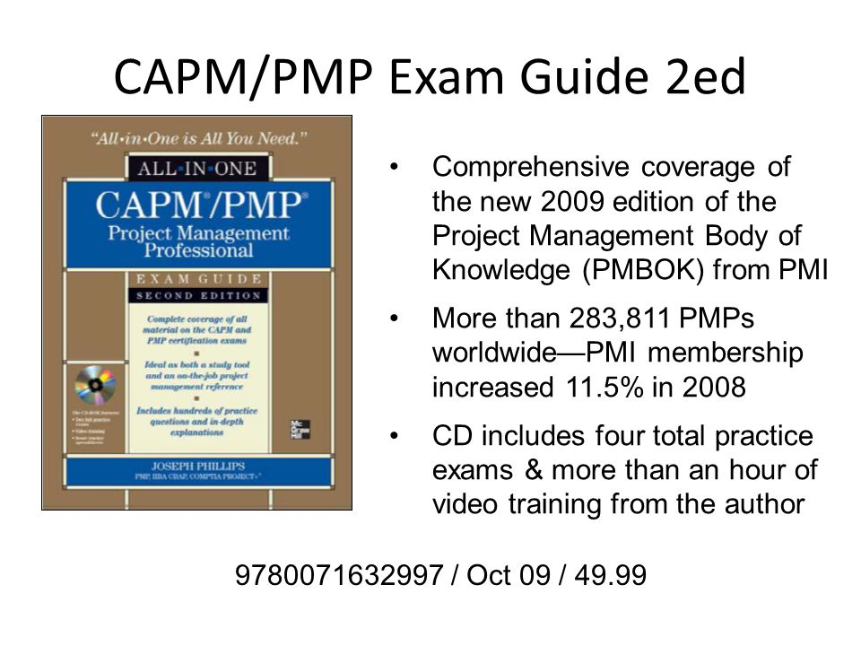 Mh Computing Key Titles Sep Dec 09 Pmp Certification Beginners