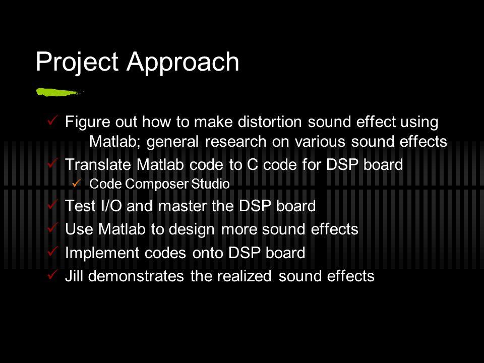 Digital Signal Processing Jill, Jon, Kilo, Roger Design Presentation