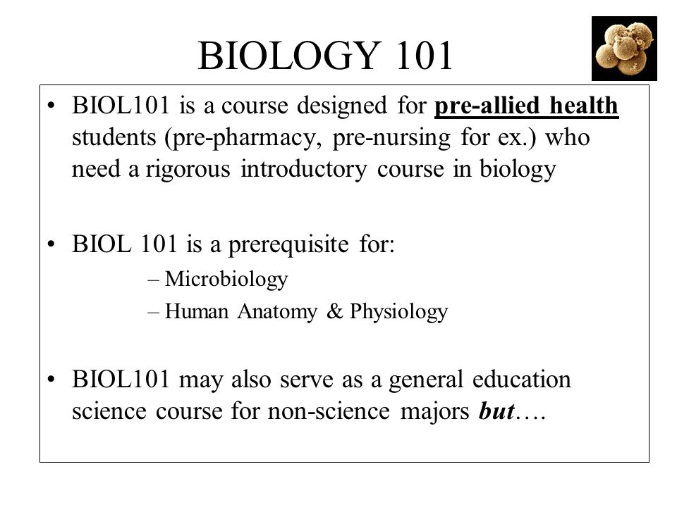 Welcome To Biology 101 Fall Biology 101 Introductions My Background