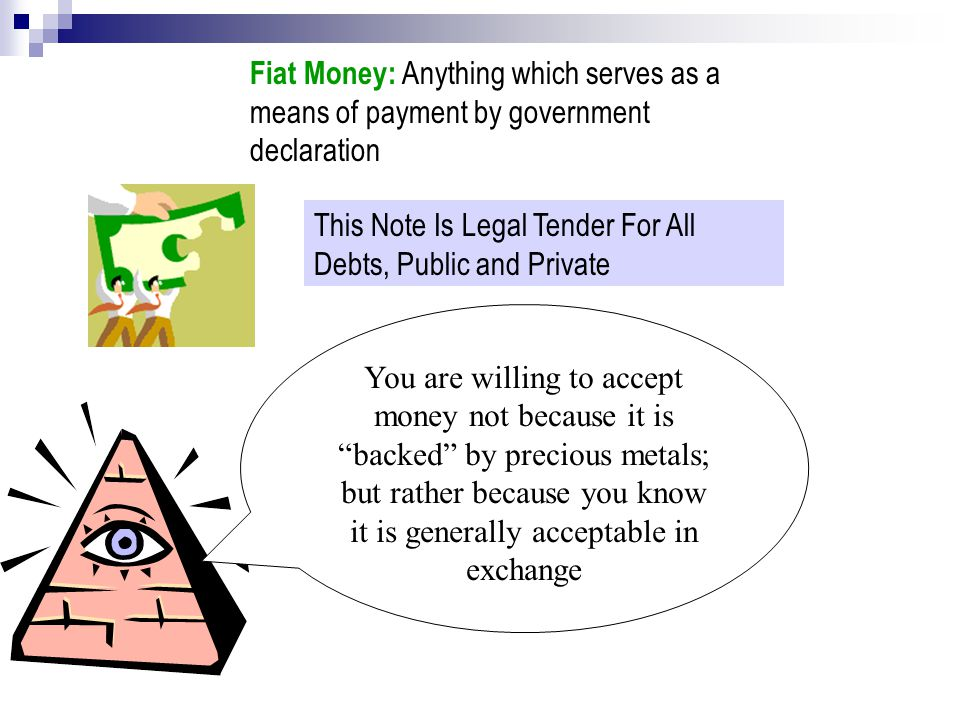 Functions of Money.