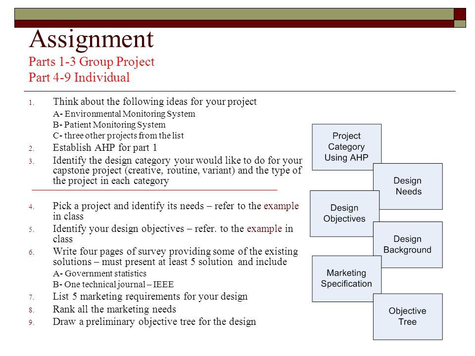 environmental capstone project ideas