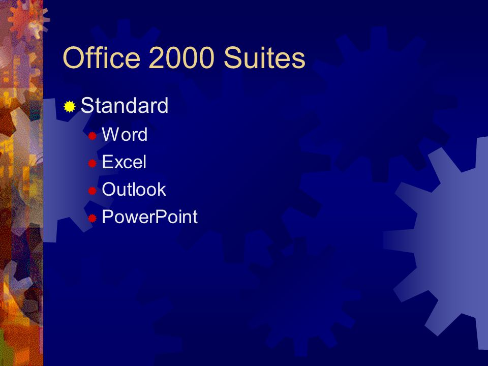 The Microsoft Office Suite Microsoft Office Versions Microsoft