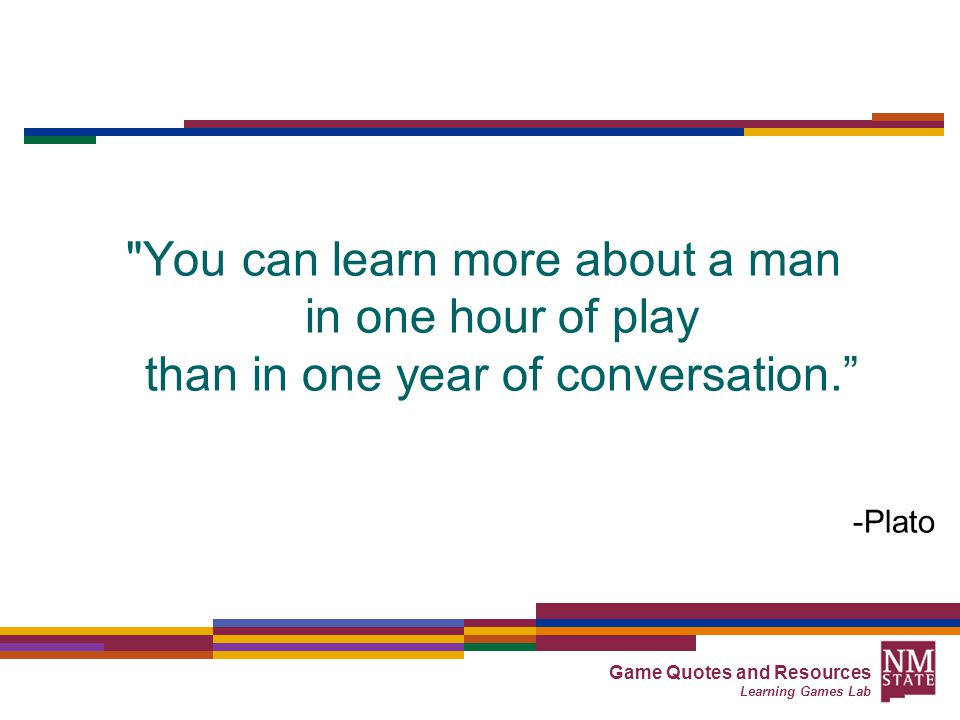 Game Quotes and Resources Learning Games Lab Why learning games ...