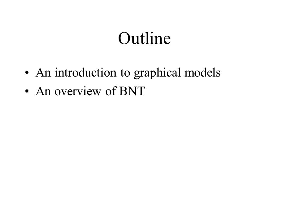 An introduction to probabilistic graphical models and the