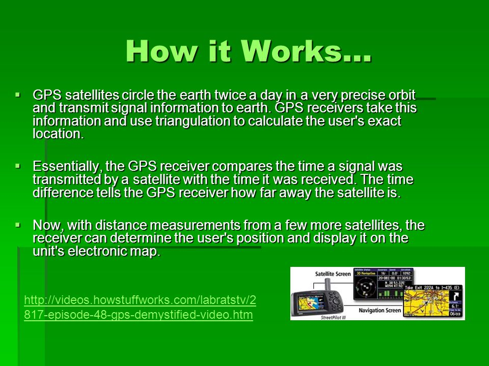 How does it work   -how-gps-works-video.htm