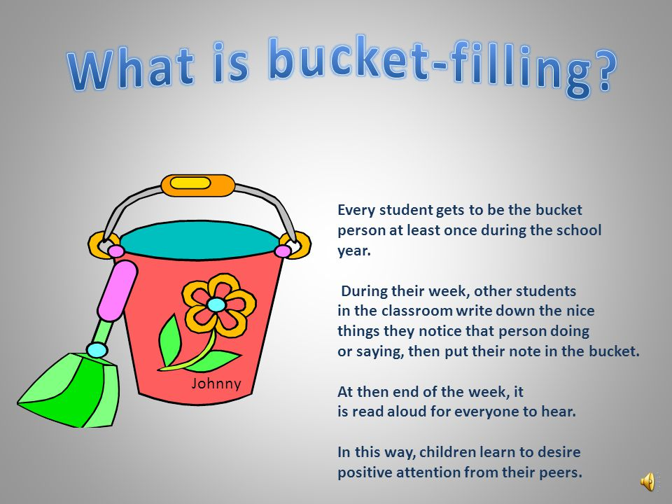 We will use class meetings to provide information through; Conversation Games Videos Role-playing Bucket filling