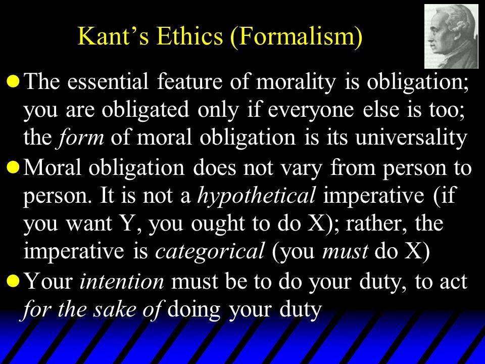 immanuel kant formalism