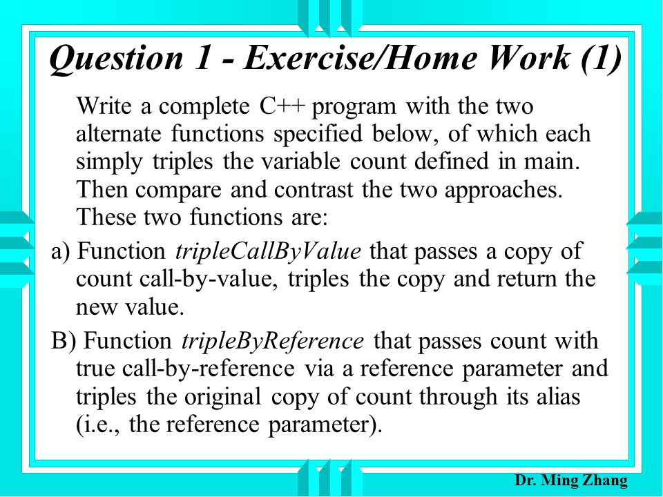 CPSC230 Computers & Programming I Lecture Notes 20 Function
