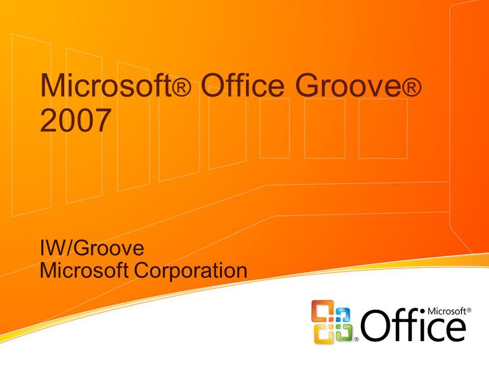 Microsoft Office Groove 2007 Iw