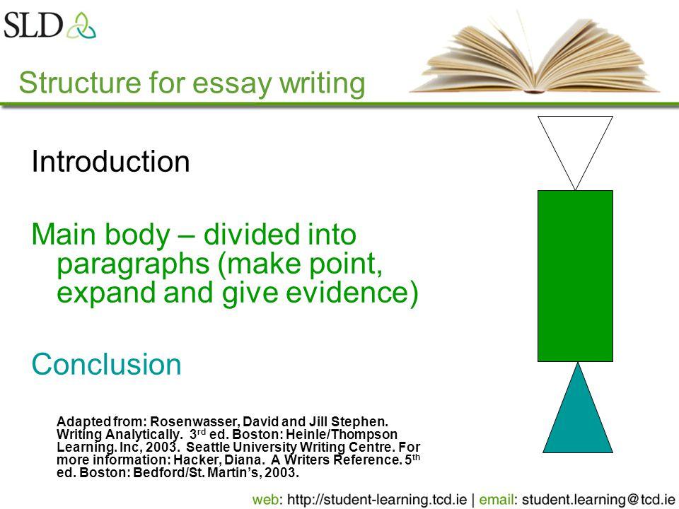 Essay Type Exams Dr Mark Matthews Student Learning