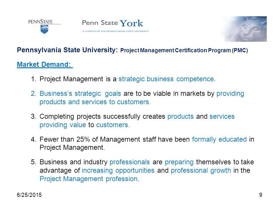 62520151 Project Management Certification Pmc Program Thomas