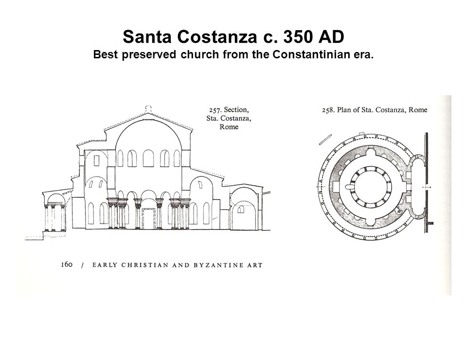 Early Christian Architecture Christianity entered a Rome