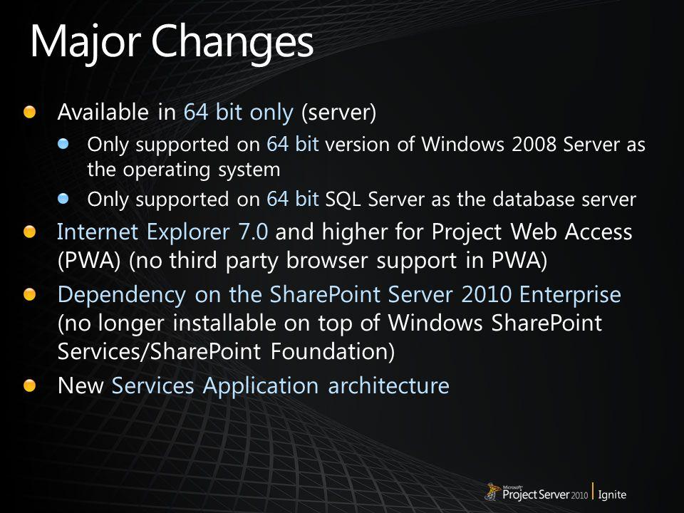 project 2010 sp2 64 bit