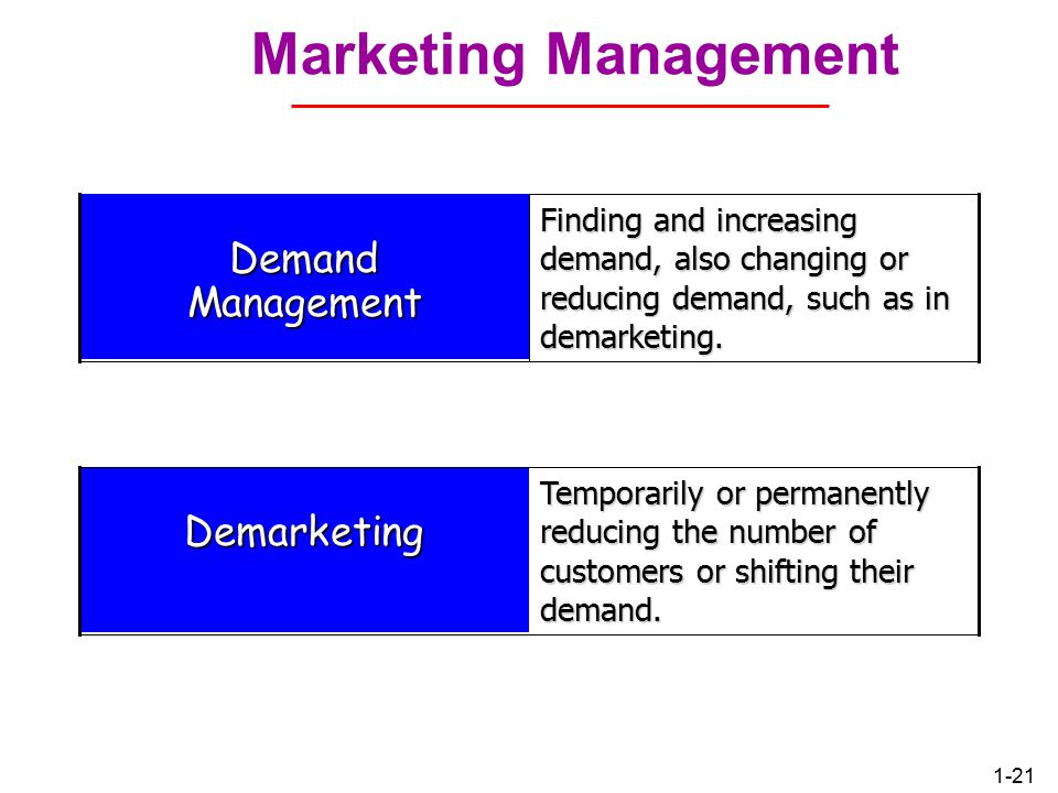 1-20 Segmentation and Target Marketing Market Segmentation: Divide the market into segments of customers Target Marketing: Select the segment to cultivate (promote) #1#2