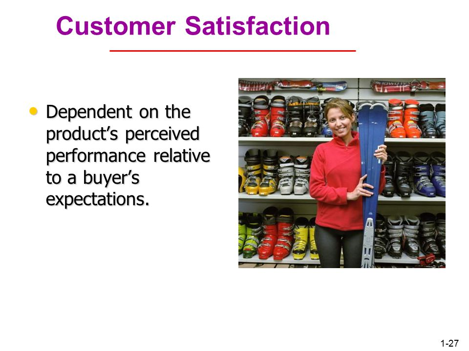 1-26 Customer Perceived Value Is FedEx's service worth the higher price.