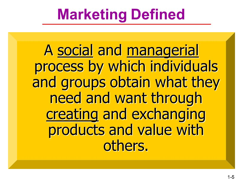 1-4 Marketing Old vs.