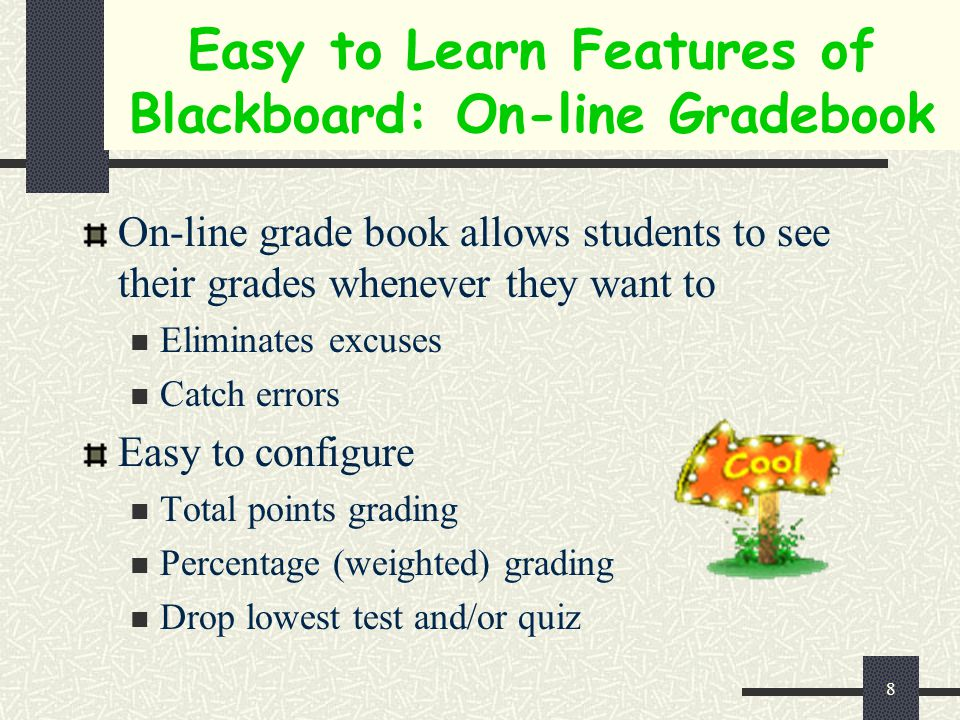 7 Using Blackboard Time Savings for Instructors Increase Student Responsibilities
