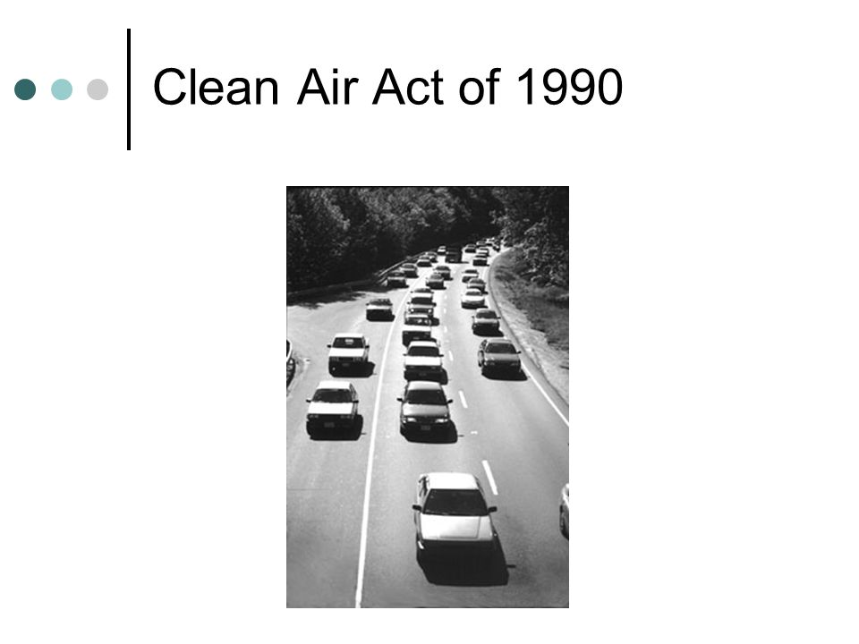 Clean Air Act of 1990