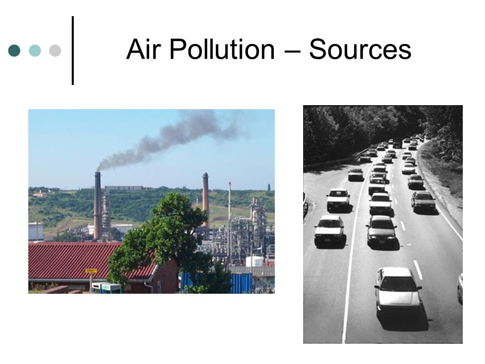 Air Pollution – Sources