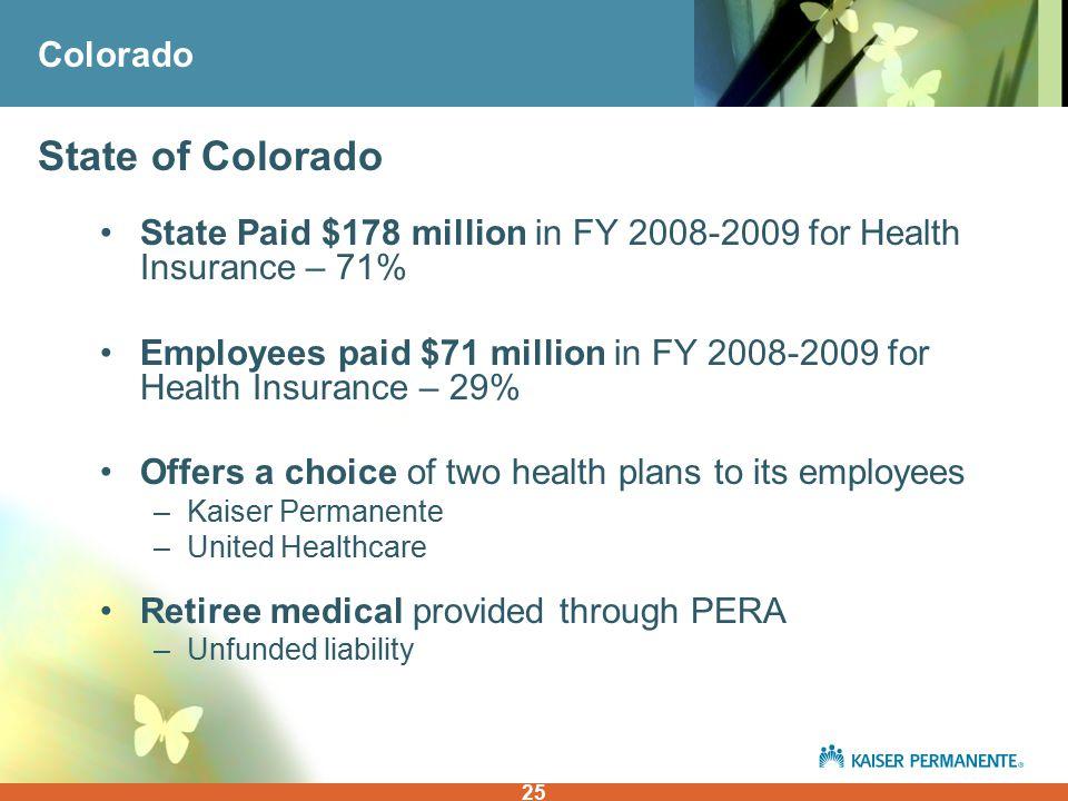 1 Donna Lynne Drph President Kaiser Permanente Colorado Health