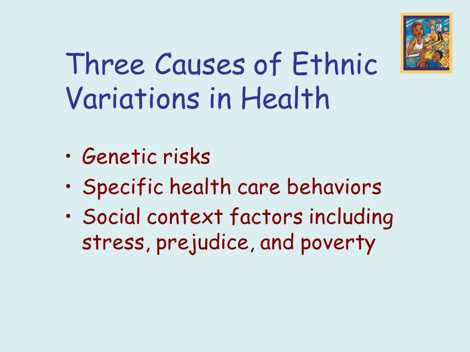 three causes of prejudice