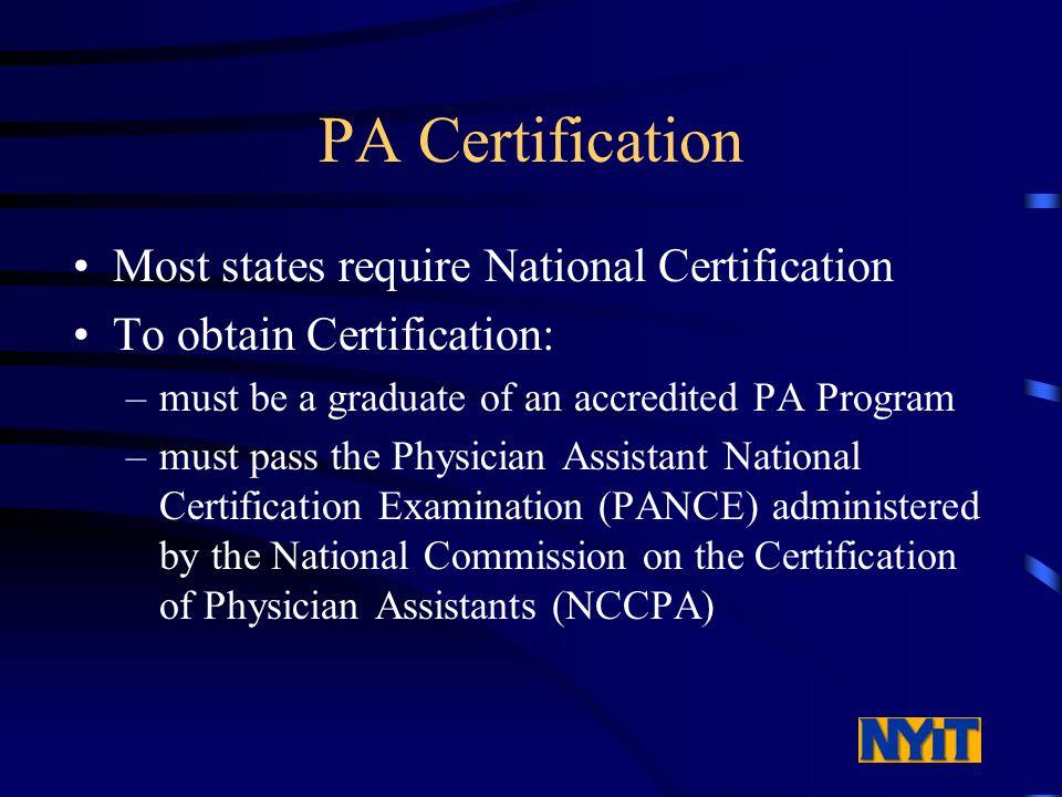 Dept. of Physician Assistant Studies (516) ppt download