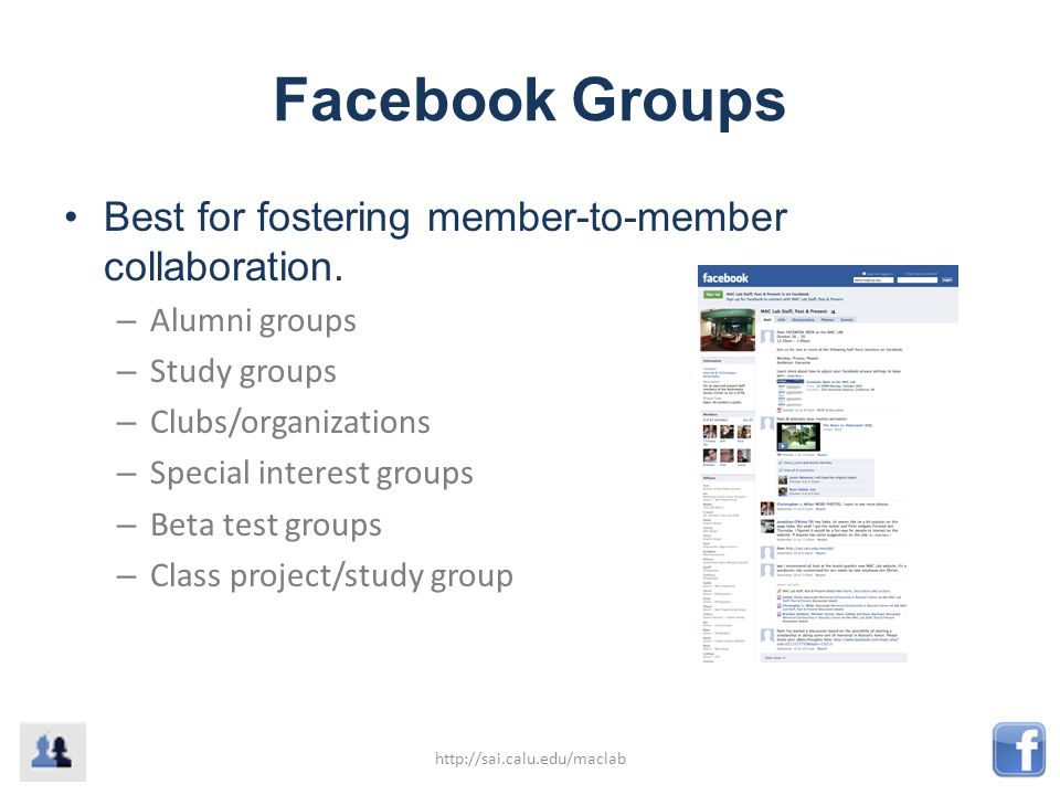 What's the Difference? Groups or Pages?  What are Groups and Pages