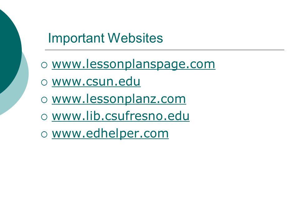 EDTE 116 The Psychology of Instruction CSU-Sacramento Single Subject ...