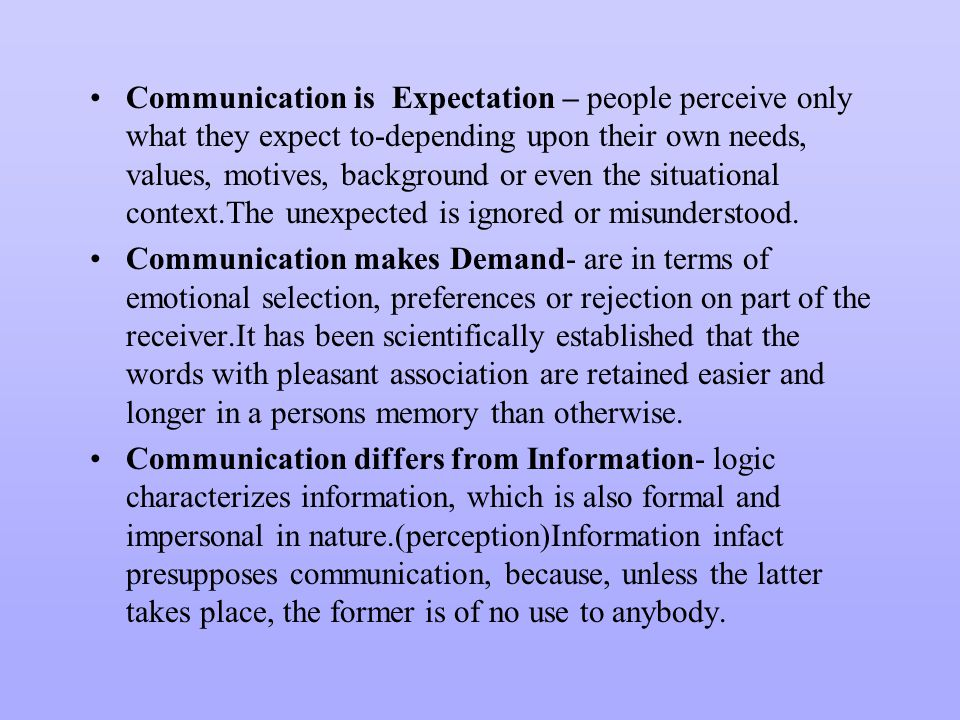 interpersonal communication concepts