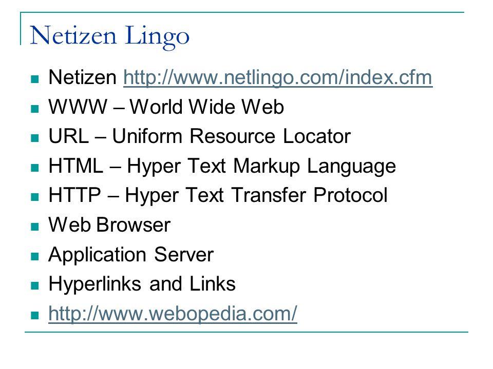 Www netlingo com