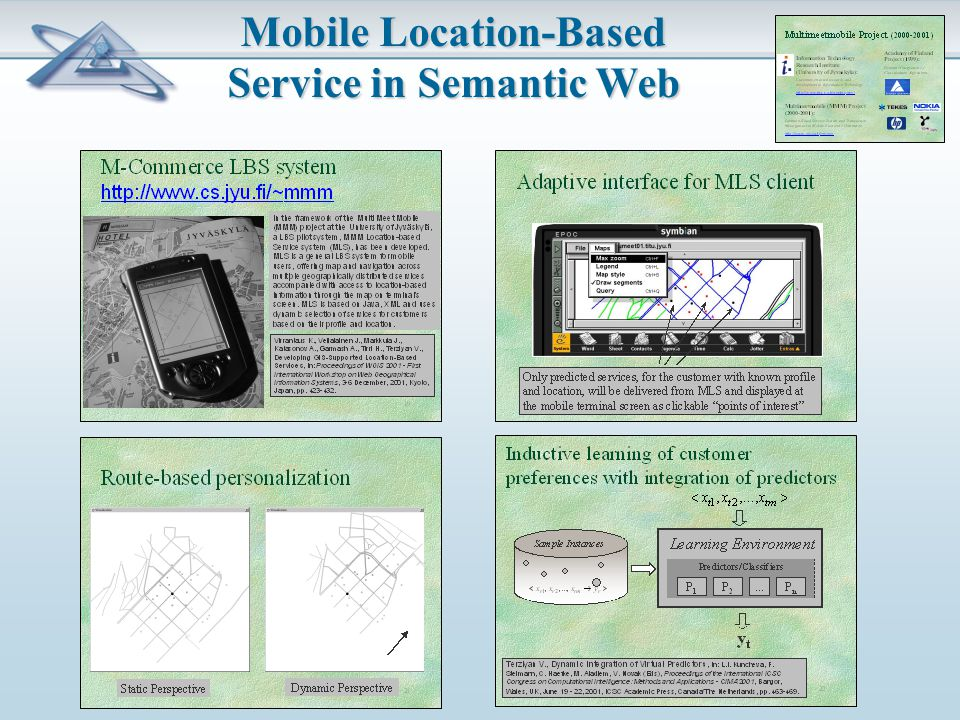 Mobile Location-Based Service in Semantic Web