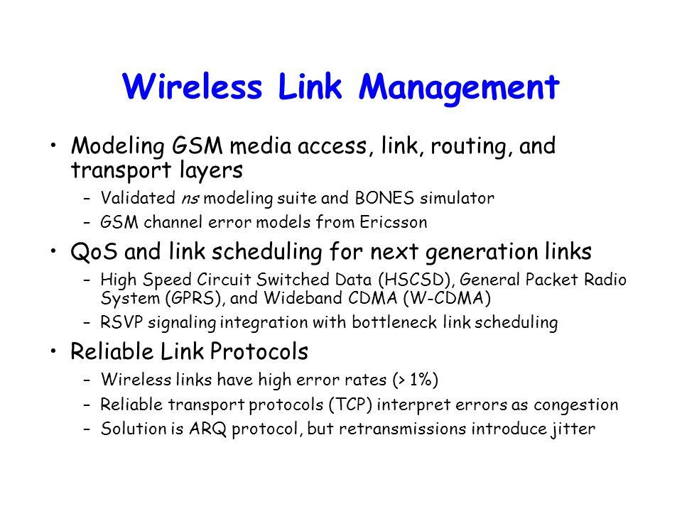 "ICEBERG/Ericsson Review 21 August Cellular ""Core"" Network Bridge to"