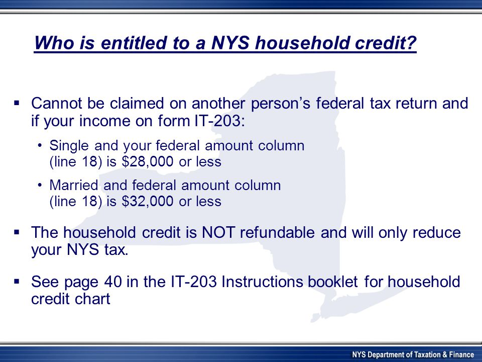 New York State Department Of Taxation And Finance Nonresident