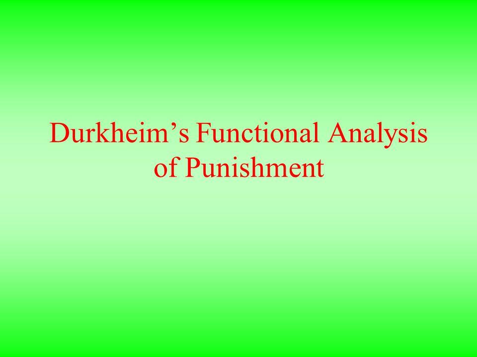 durkheim punishment