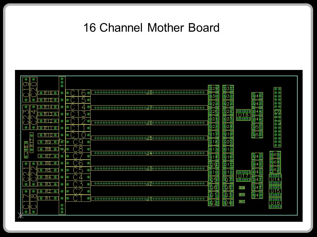 16 Channel Mother Board