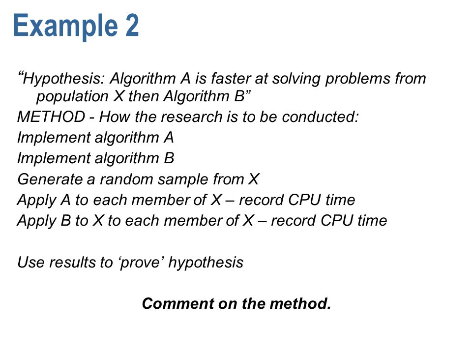 sample hypothesis for a research proposal
