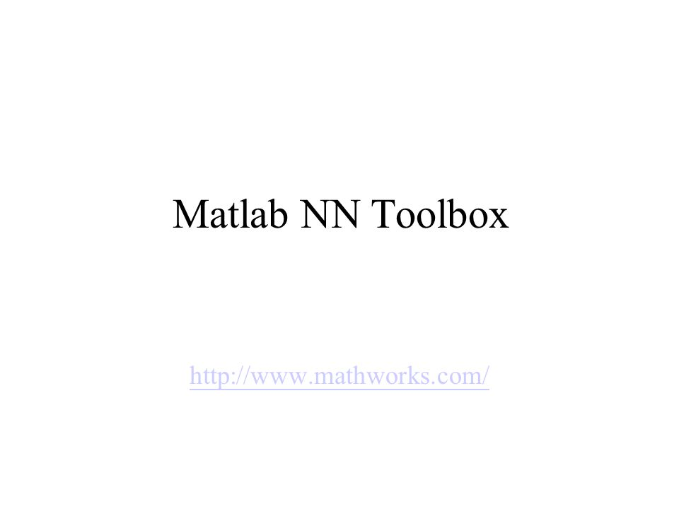 Matlab NN Toolbox Implementation 1  Loading data source  2