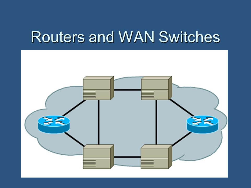 Routers and WAN Switches