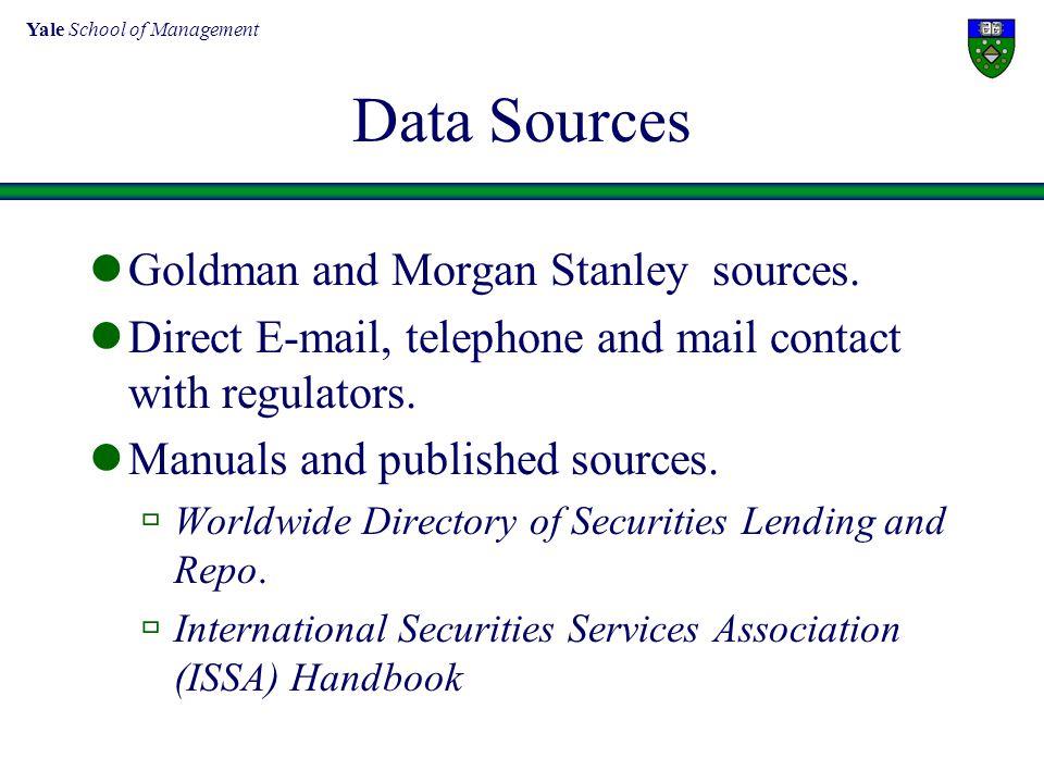 Yale School of Management Hedge Fund Regulation SEC mission