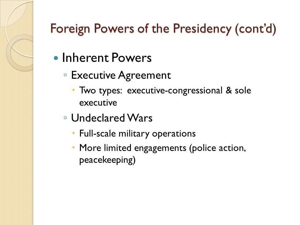 The Presidency Major Themes 1 Vague Design Why So Vague Leads