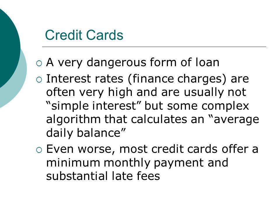 LSP 120 Financial Matters  Loans  When you take out a loan